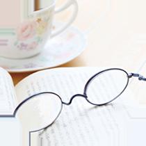 読書が楽しくなる大人のメガネ